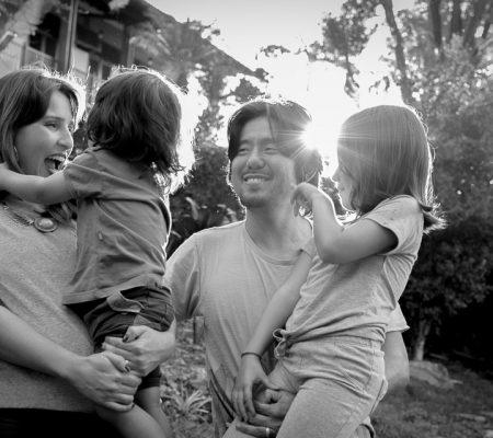 Fotografia de Família Sabrina, Eduardo, Nina e Leo registrado pela fotógrafa BH Márcia Andrade realizado em Belo Horizonte