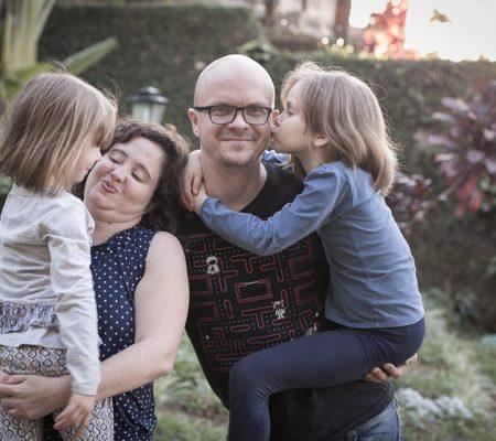 Fotografia de Família Aretha, Diogo, Marina e Carol registrado pela fotógrafa BH Márcia Andrade realizado em Belo Horizonte