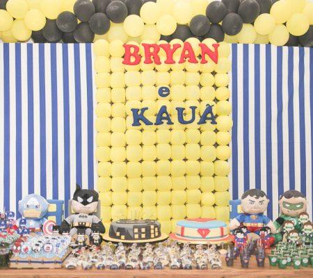 Aniversário Infantil Bryan e Kauã registrado pela fotógrafa BH Márcia Andrade realizado em Belo Horizonte