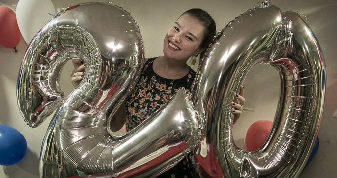 Aniversário 20 anos Mariana registrado pela fotógrafa BH Márcia Andrade realizado em Belo Horizonte
